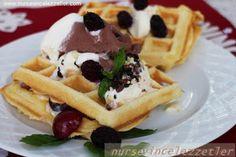 Waffle - Nursevince Waffles, Breakfast, Food, Morning Coffee, Essen, Waffle, Meals, Yemek, Eten