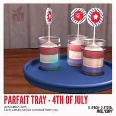 Parfait for FLF - 4th of July   Flickr - Photo Sharing!