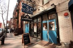 """Everyman Espresso """"Damn Good Coffee"""" 136 East 13th Street. #1 on the daily meal's 'best coffee shops in america'"""