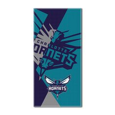 """Hornets National Basketball League, """"""""Puzzle"""""""" 34""""""""x 72"""""""" Over-sized Beach Towel"""