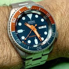 A provider of Custom Seiko Watch Modification services. Specializing in Seiko Mods and Watch Modding services. Custom designs and pre-built Seiko Mods for sale. Seiko Mod Parts. Seiko Skx, Seiko Watches, Best Looking Watches, Seiko Diver, Seiko 5 Automatic, Stainless Steel Watch, Quartz Watch, Watches For Men, Schmuck