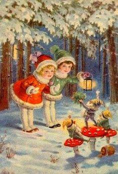 postales antiguas navidad - Buscar con Google