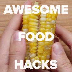 food hacks / food & food recipes & food porn & food photography & food and drink & food videos & food recipes for dinner & food hacks Useful Life Hacks, Baking Tips, Diy Food, Food Crafts, Decor Crafts, Diy Crafts, No Cook Meals, Quick Meals, Food Hacks