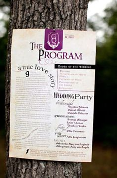 ok so this might be a bit of a stretch.... BUT: Harry Potter inspired wedding