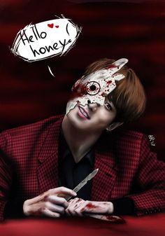 Jungkook Fanart, Kpop Fanart, Bts Jungkook, Foto Bts, Bts Photo, Namjin, Bts Halloween, Happy Halloween, Bts Korea