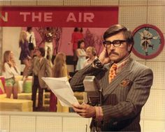 """Gary Owens, the announcer on """"Laugh In.""""  He always said the silliest things in the straightest way."""