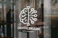Digital Brain Logo @creativework247
