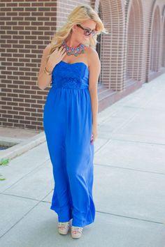 Something Blue Maxi - Royal