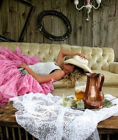 The Farrier's Daughter: TFD Photoshoot~Cowboy Boots & Petticoats,,love this outfit and sofa