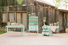 Rustic California wedding | photo by Kristen Booth Photography | 100 Layer Cake