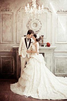 PA0193 板橋蘿亞手工婚紗 Royal handmade wedding dress 婚紗攝影 量身訂做 訂製禮服 單租禮服