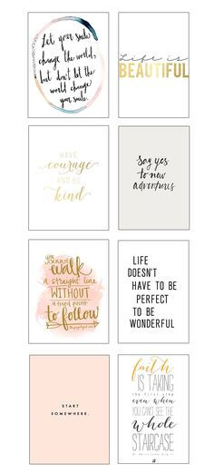 8 x Inspirerende Quôtes | http://thebeautymagazine.nl/beauty/8-x-inspirerende-quotes/