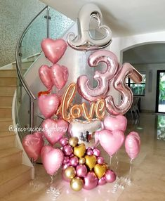 Balloon Decoration Ideas for Birthday Party . 30 New Balloon Decoration Ideas for Birthday Party . Ballon Decorations, Birthday Party Decorations, Birthday Parties, Deco Ballon, Birthday Ideas For Her, Adult Party Themes, 35th Birthday, Birthday Diy, Birthday Cakes
