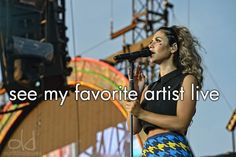 Oh and I will! Marina and the diamonds. 05/13/13