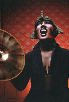 Grace Jones, 2008. This could easily be 1988.