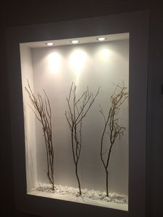Wall decor Wall Lighting Design, Wall Design, House Interior Decor, Foyer Design, Home Room Design, Bedroom False Ceiling Design, Living Room Decor Inspiration, Niche Design, Living Room Partition Design