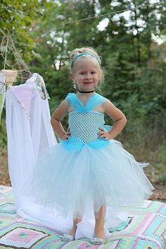 Small Cinderella Tutu Dress by RayannasBowtique on Etsy, $29.99