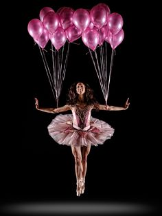 Ballerina with Balloons Just Dance, Dance Like No One Is Watching, Shall We Dance, Dance Movement, Ballet Photography, Tiny Dancer, Dance Pictures, Dance Images, Dance Photos