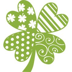 Patchwork Clover-Free Digital Cut File (Free for 2 weeks only)-Includes 8 file formats: .SVG,.AI, .EPS, STUDIO, .DXF, .JPG, .PNG, .GSD.