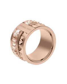 Pyramid/Baguette Ring, Rose Golden by Michael Kors at Neiman Marcus in Size 8