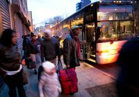 """""""New breed of buses draws Thanksgiving travelers"""" New technology offerings and slimmer logistics are reviving bus ridership.  Plus it's better for the environment!"""