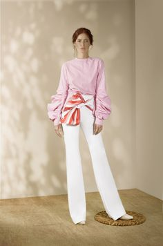 Andrés Otálora Resort 2019 - Discover the Collection Here! Fashion 2020, Fashion Show, Office Outfits, Pants Outfit, Loungewear, Evening Dresses, Stylists, Blouses, Street Style