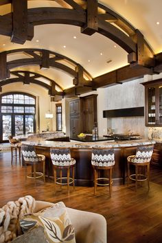 Paula Berg Design Associates #kitchen #interiordesign #mountain #home #detailing #custom #utah