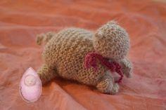 Mandelkernchen: Gestrickte Kätzchen