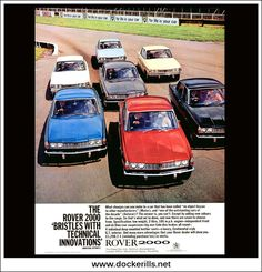 Rover Original Vintage Advert From October 1965 Rover P6, Car Rover, Transport Images, Road Transport, Vintage Cars, Antique Cars, Car Advertising, Car Car, Cars And Motorcycles