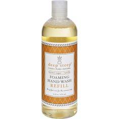Deep Steep Foaming Hand Wash - Refill - Brown Sugar Vanilla - 16 Fl Oz