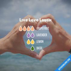 Live Love Laugh - Essential Oil Diffuser Blend