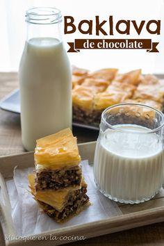 Mi toque en la cocina: Baklava de chocolate
