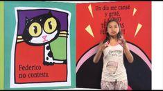 Lengua de señas y voz off. Cuento: Federico Videos, Sign Language, Documentaries, Short Stories, School