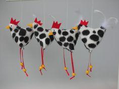 Huhn Henne Hühnchen von Firlefanz-Design auf DaWanda.com