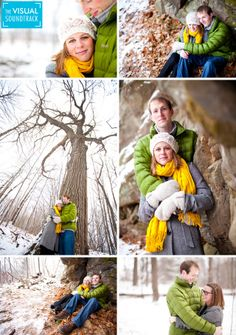 fall winter engagement pictures - Google Search
