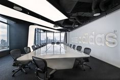 4 Board Room 700x467 Inside Adidas Shanghai, Athletic Inspired Headquarters