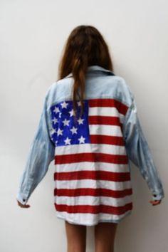 american flag shirt. need this.