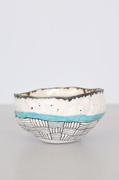 Speckled Bowl - Blue