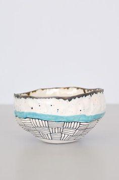 Speckled Bowl - Blue