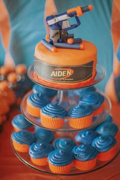 Nerf Birthday Party Ideas | Photo 1 of 61