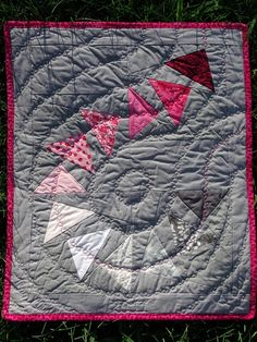 Amazing and modern quilt!