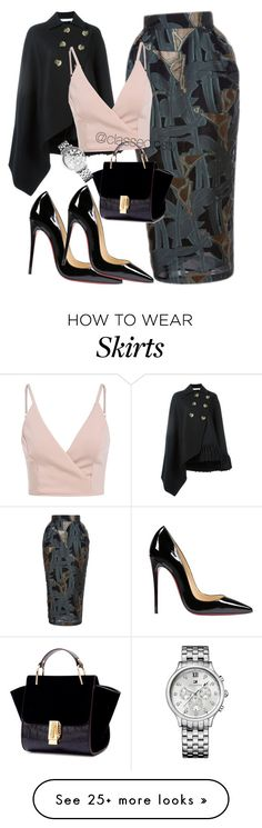 """Untitled #241"" by mama-liciuos on Polyvore featuring Emanuel Ungaro, Victoria Beckham, Christian Louboutin and Tommy Hilfiger"