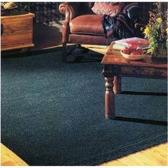 Colonial Mills Courtyard Cypress Green Rug Rug Size: Square 4', Fringe: Included