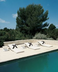 Pool A BEAUTIFUL FORMENTERA SUMMER HOME | the style files