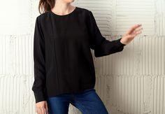 JOINERY - Silk Crepe Blouse by Sayaka Davis - WOMEN