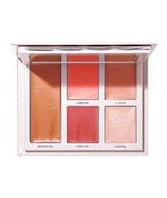 "Bonne Mine Healthy Glow Palette: With five complexion-warming options (a bronzer, two blushes, and two highlighters) and an application guide, ""it's like having a makeup artist in your pocket,"" said a tester."