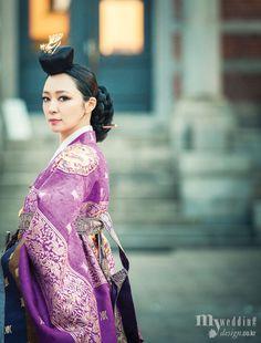 윤의한복 왕비의 기품