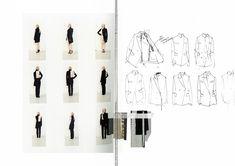 Fashion Sketchbook - fashion drawings; creative process; fashion portfolio // Rebecca Stant