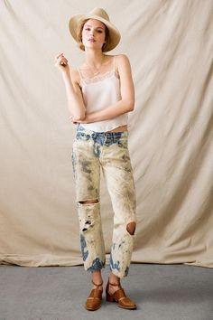 Vintage Bleached Jean