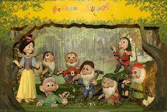 Pelham puppets Snow White